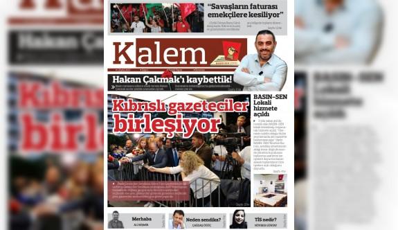 """""""Kalem Gazetesi """" yayın hayatında"""