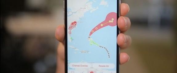 Kasırganın zirve yaptırdığı internet uygulamaları