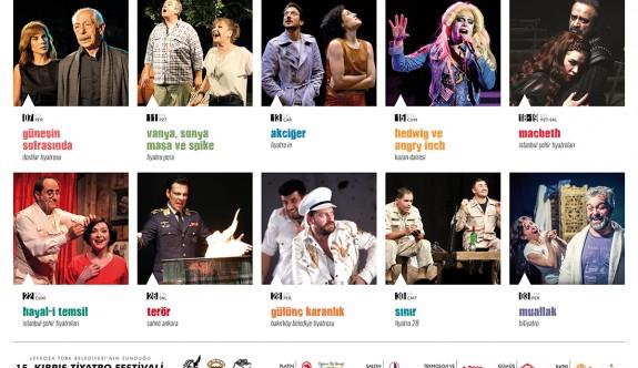 Kıbrıs Tiyatro Festivali Perşembe akşamı başlıyor