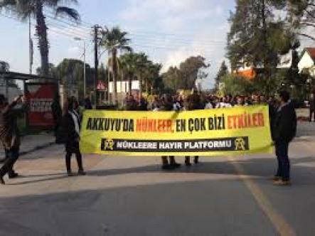 Kıbrıslı Türkler ile Rumlar'a Nükleere Hayır Çağırısı