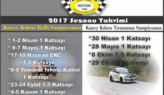 KKTOK güncellenmiş takvimini yayınladı