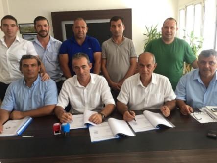 Lefke Belediyesi ile BES arasında toplu sözleşme imzalandı.