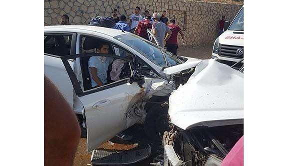 Lefke'de korkutan kaza: 1 ağır yaralı