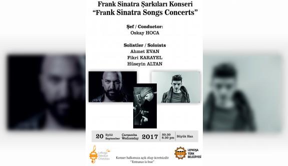 Lefkoşa Belediye Orkestrası Frank Sinatra şarkılarıyla sezonu açıyor
