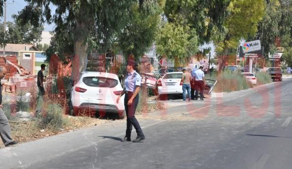 Lefkoşa - Gazi Mağusa Anayolunda Kaza