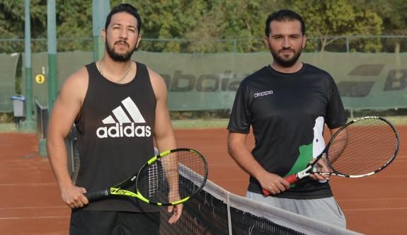 Lefkoşa Open Tenis Turnuvası'nda finale doğru
