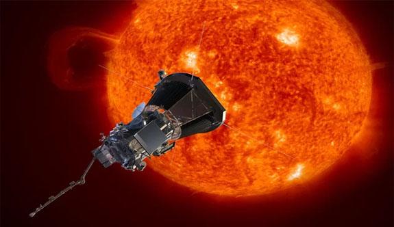 NASA' Güneş'e 'dokunacak' uzay aracı Parker Solar Probe'u tanıttı
