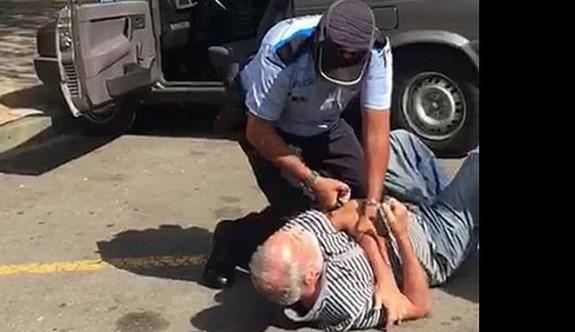 Rum polisinden öldüresiye dayak