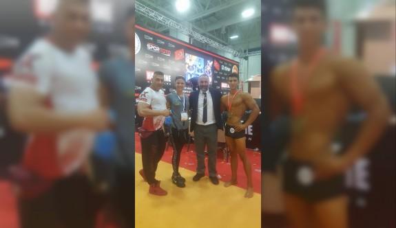 Sağlam, Türkiye şampiyonu oldu