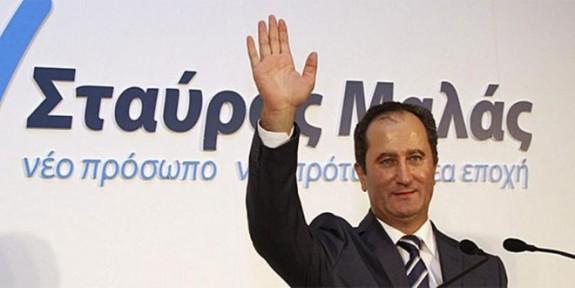 Stavros Malas bağımsız adaylığını açıkladı