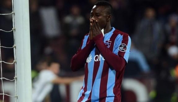 Trabzon'da N'doye ayrılmak istiyor