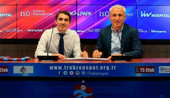 Trabzon'dan Abdülkadir'e 5 yıllık uzatma