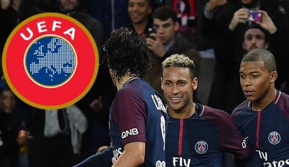 UEFA'dan PSG'ye uyarı