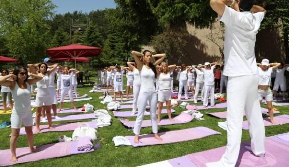 Uluslararası Yoga Festivali'nde temsil edildik