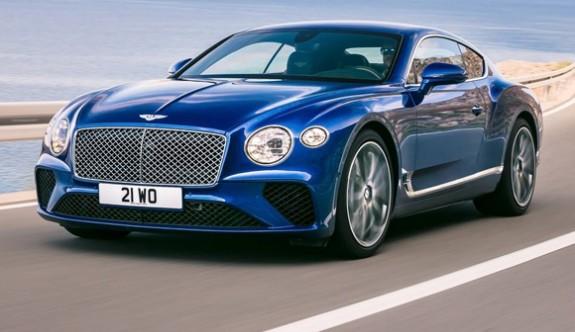 Yeni Bentley Continental GT gün ışığına çıktı