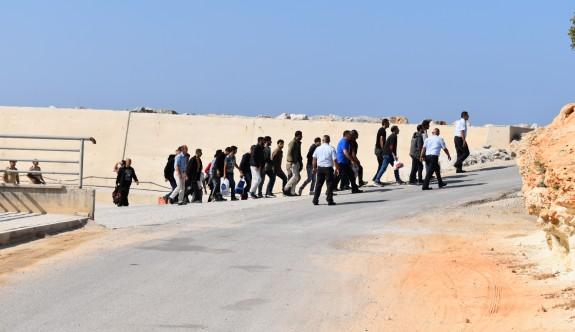 24 mülteci yakalandı