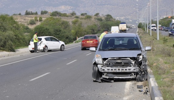 48 trafik kazasında 9 kişi yaralandı