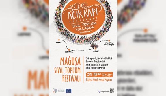 Açık Kapı Festivali Mağusa'da yapılıyor