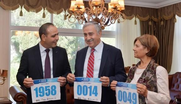 Akıncı da Lefkoşa Koşuyor Maratonu'na katılıyor