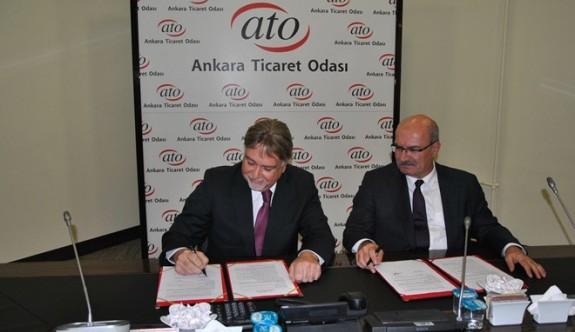 Ankara Sanayi Odası'yla önemli işbirliği