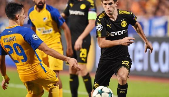 Apoel, Dortmund'u elinden kaçırdı