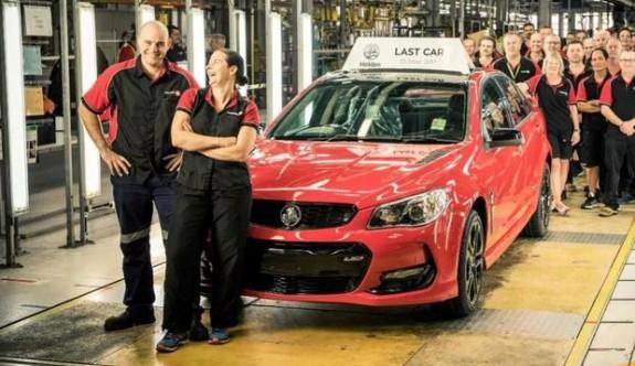 Avustralya'da otomobil üretimi durdu