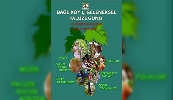 Bağlıköy'de pazar günü 'Palüze Günü' yapılacak