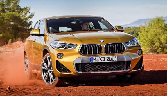 BMW'nin yeni SUV'u BMW X2