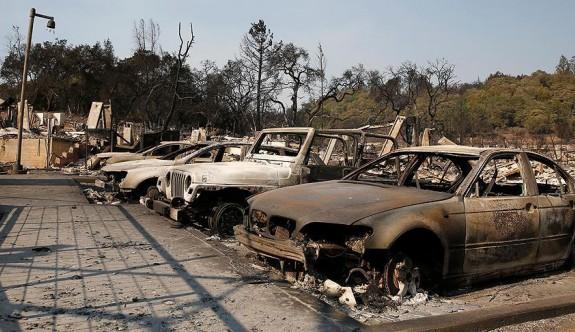 California'daki yangının  zararı 1 milyar dolar