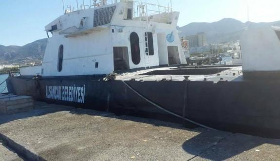 Dalış Turizmi için gemi batırılacak