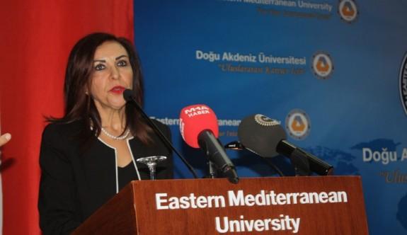 DAÜ'de ilk dersi Ombudsman Emine Dizdarlı verdi