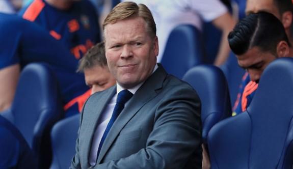 Everton'da Koeman dönemi bitti
