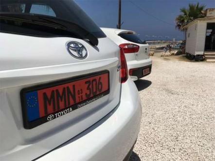 Güney Kıbrıs'ta da plakalar değişiyor
