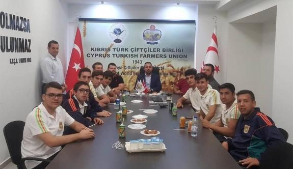 Güzelyurt Meslek Lisesi'nden Çiftçiler Birliği'ne teşekkür