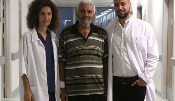 Hasan Özkasnak YDÜ Hastanesi'nde sağlığına kavuştu