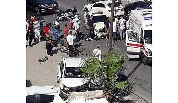 İki kişi hafif yaralandı