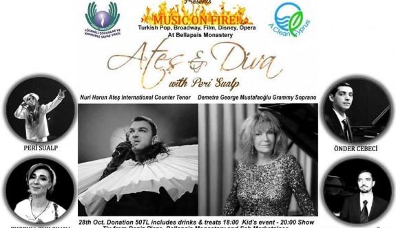 Kemal Saraçoğlu Vakfı ile Temiz Kıbrıs Hareketi Yararına Konser