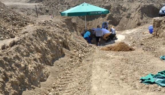 Kılıçarslan'daki kazılarda bazı kalıntılara ulaşıldı
