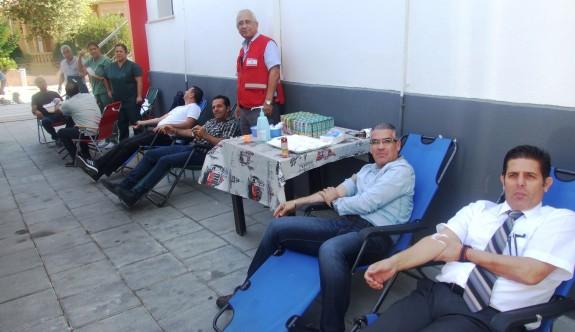 KTFF, Kızılay'a kan bağışında bulundu