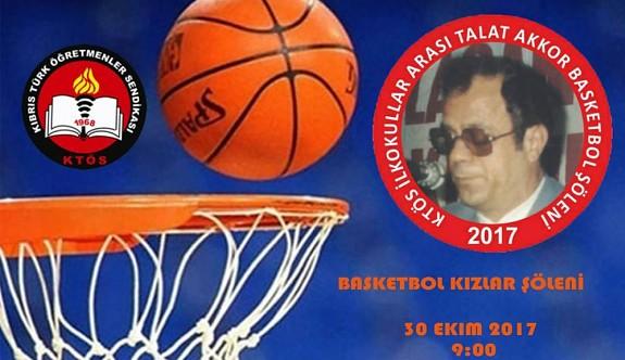 KTÖS İlkokullar Arası Talat Akkor Basketbol Şöleni 30 Ekim'de Başlıyor