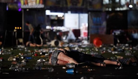 Las Vegas'taki silahlı saldırıda en az 50 ölü