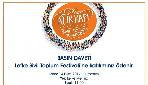 Lefke Sivil Toplum Festivali Yarın…