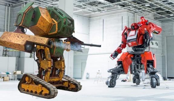 Robot savaşları gerçek oluyor