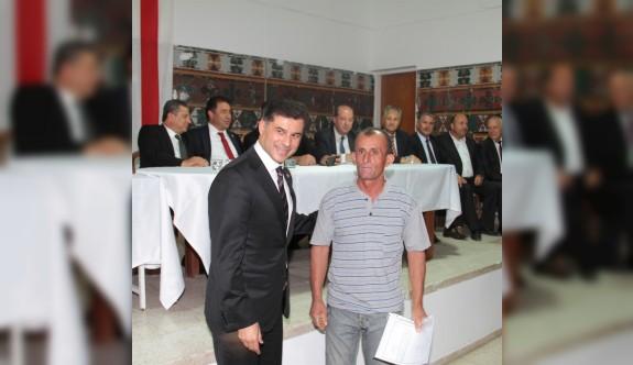 Serdarlı ve Görneç'te kırsal kesim arsası dağıtıldı