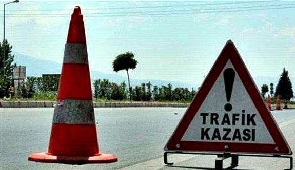 Son bir haftada trafik kazalarında 1 ölü, 14 yaralı