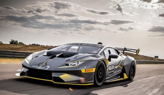 Süratin diğer adı: Lamborghini Huracan Super Trofeo Evom