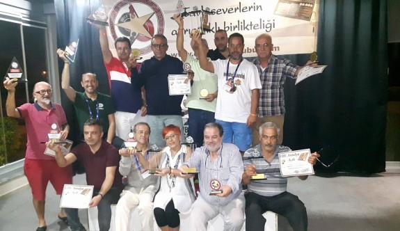 Tavlacılar Antalya'dan kupalarla döndü