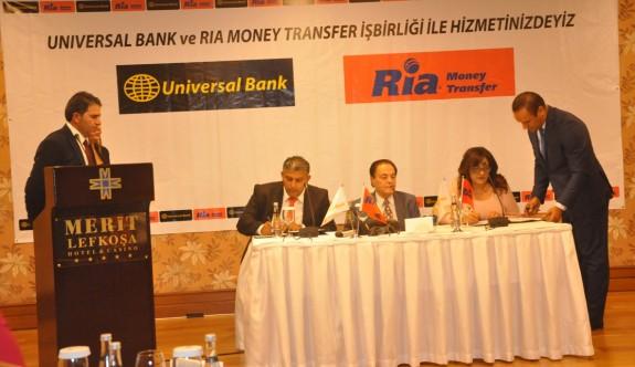 Universal Bank'dan uluslararası açılım