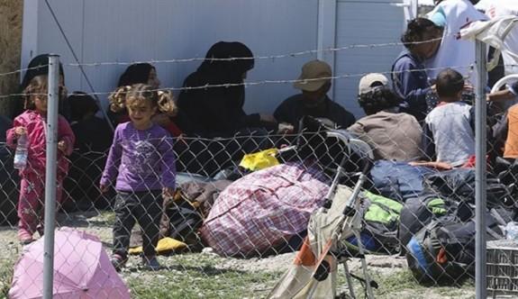 Yunan adalarındaki 3 bin sığınmacı zor durumda