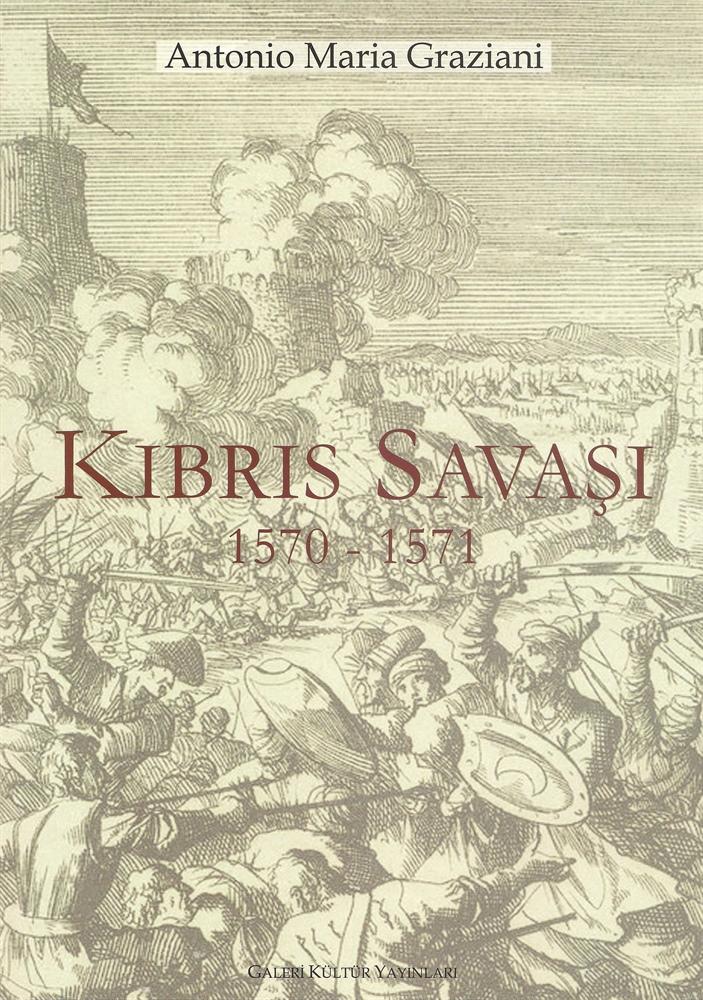 """450 yıllık Latince eser """"Kıbrıs Savaşı"""" adıyla yayımlandı"""